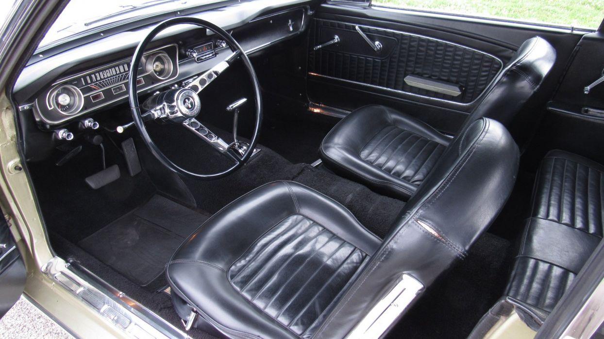 1965 Ford Mustang Convertible Muscle Classic Original USA -04 wallpaper