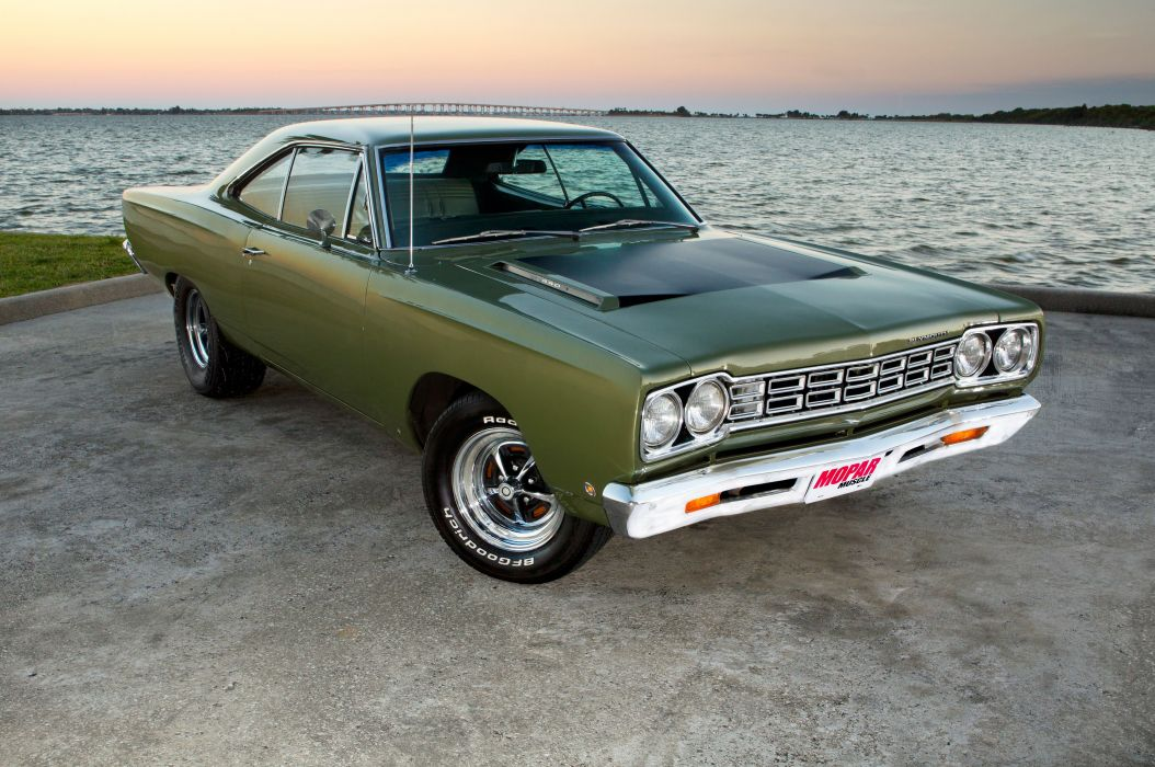 1968 Plymouth Satellite Street Machine Pro Street Drag Muscle USA -01 wallpaper