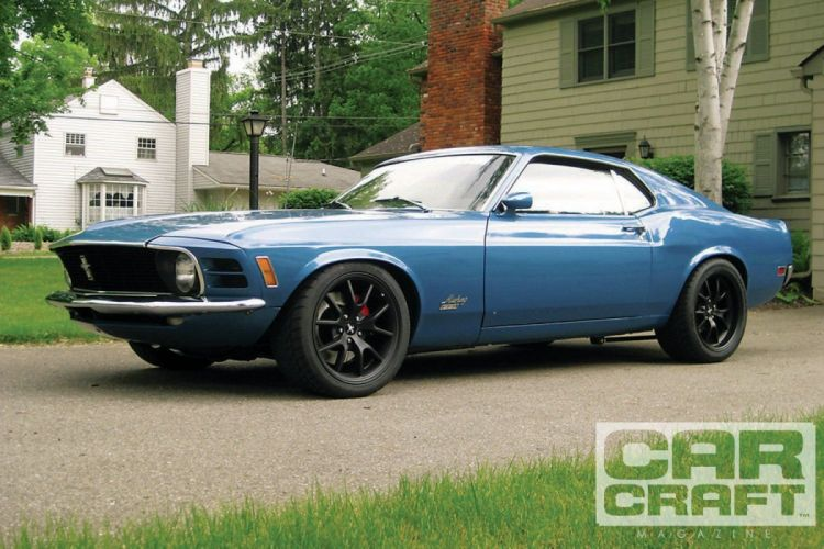 1970 Ford Mustang GT Muscle Super Car Pro Touring USA -01 wallpaper