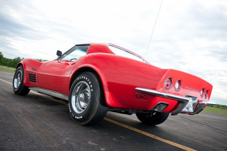 1971 Chevrolet Chevy Corvette Muscle 454 LT1 Stingray Classic USA -12 wallpaper