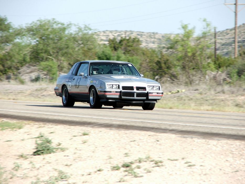 1986 Pontiac Grand Prix 2+2 Muscle Pro Touring Supercar Race USA -03 wallpaper