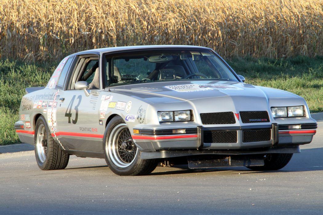 1986 Pontiac Grand Prix 2+2 Muscle Pro Touring Supercar Race USA -04 wallpaper