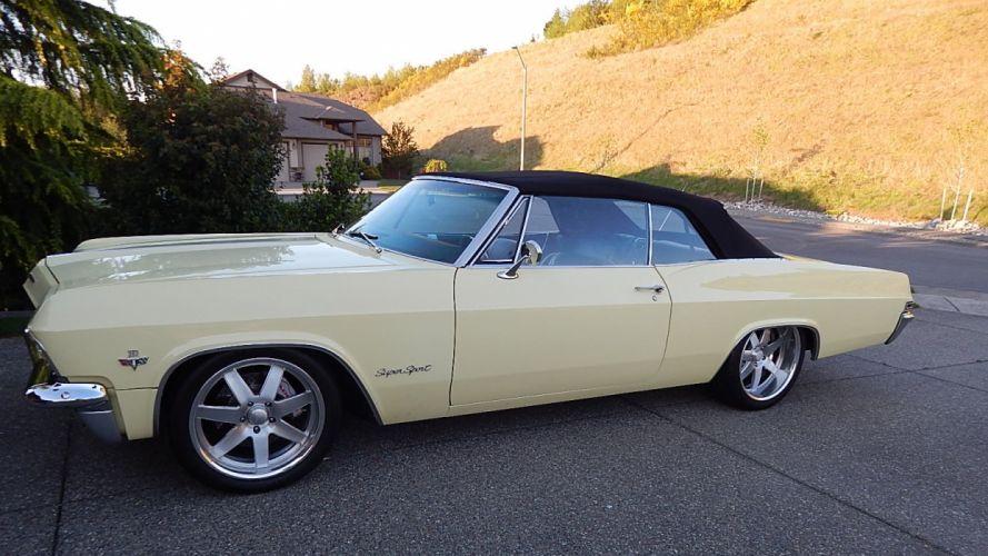 1965 Chevrolet Impala SS Convertible Street Rod Cruiser USA -06 wallpaper