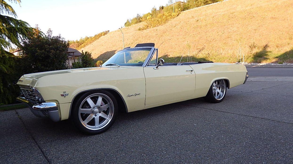 1965 Chevrolet Impala SS Convertible Street Rod Cruiser USA -07 wallpaper