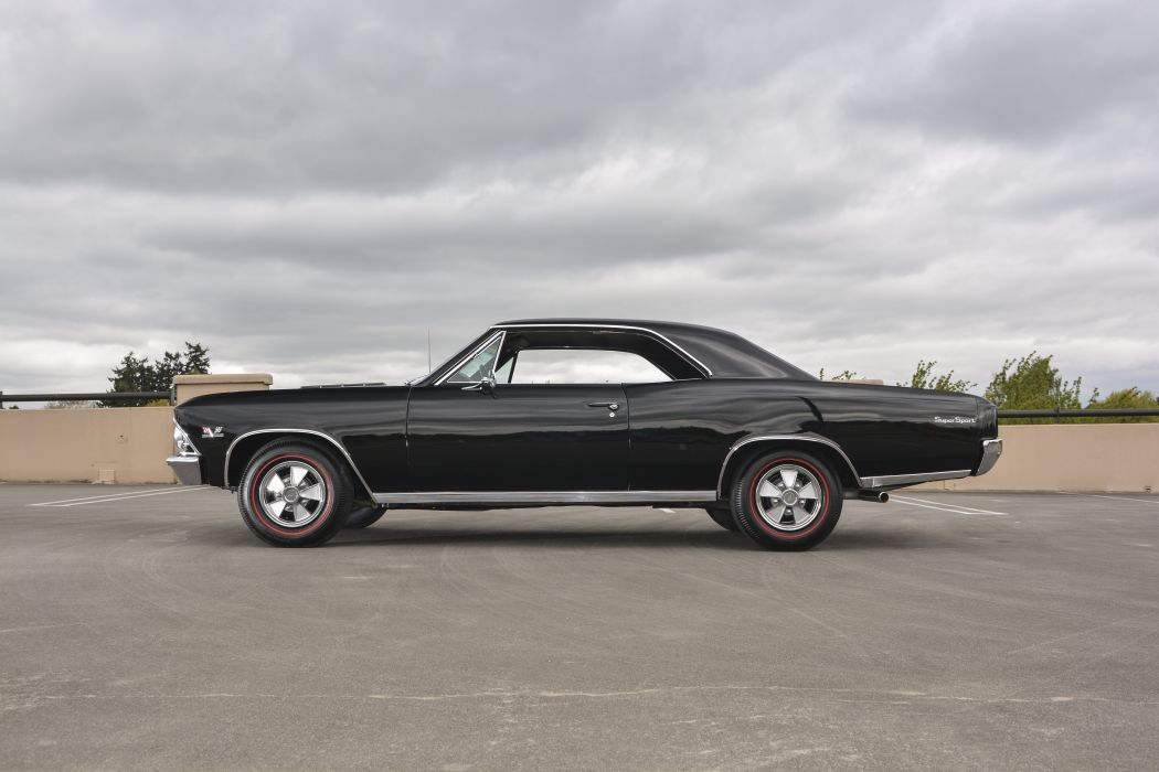 1966 Chevrolet Chevelle Coupe Hardtop Muscle Classic Old Original USA -02 wallpaper