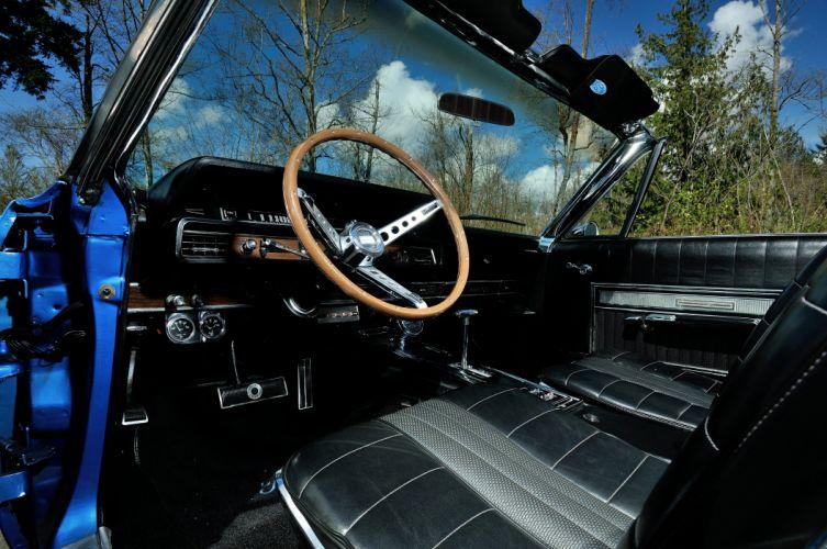 1966 Ford Galaxie 500 Convertible Street Rod Cruiser USA -04 wallpaper