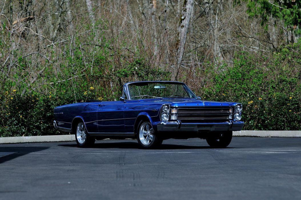 1966 Ford Galaxie 500 Convertible Street Rod Cruiser USA -12 wallpaper