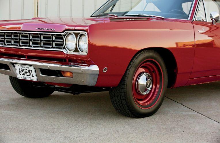 1968 Plymouth Road Runner Hemi Muscle Classic USA -02 wallpaper