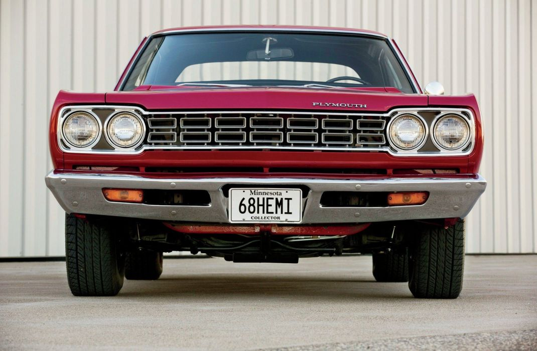 1968 Plymouth Road Runner Hemi Muscle Classic USA -04 wallpaper