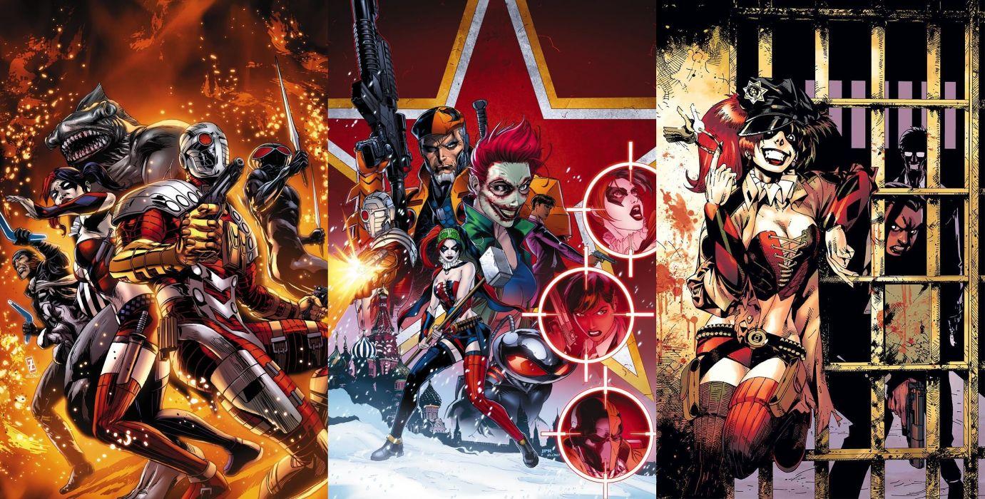 SUICIDE SQUAD action superhero warrior fighting dc-comics d-c comics 1ssq mystery thriller wallpaper