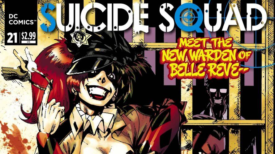 SUICIDE SQUAD action superhero warrior fighting dc-comics d-c comics 1ssq mystery thriller poster wallpaper