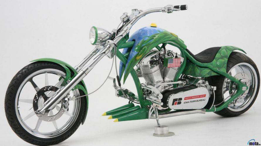 moto chopper americana wallpaper