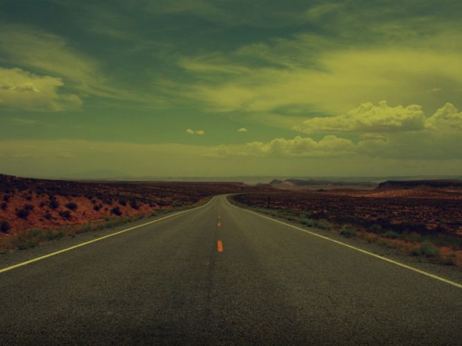Lonely Road wallpaper