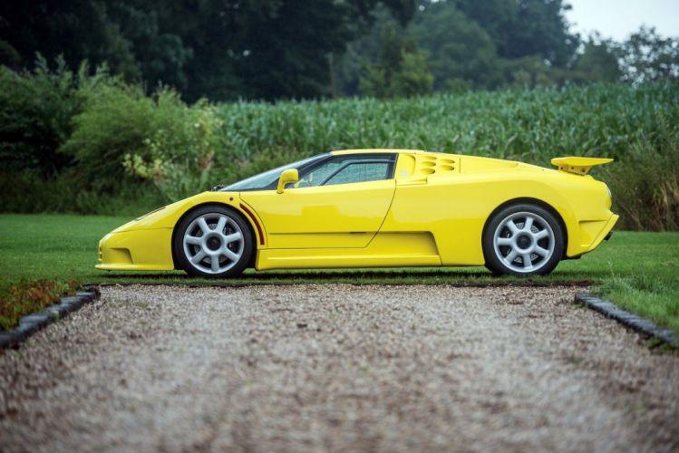 1993 Bugatti cars eb110 supercars wallpaper