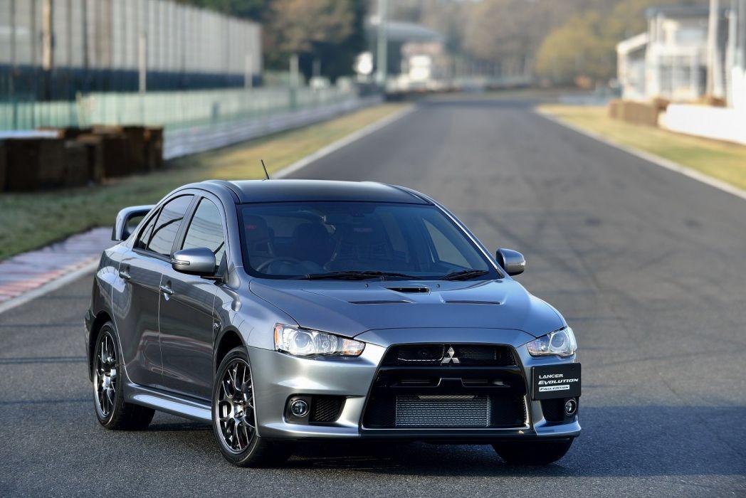Mitsubishi Lancer Evolution-X Final Edition cars 2015 wallpaper