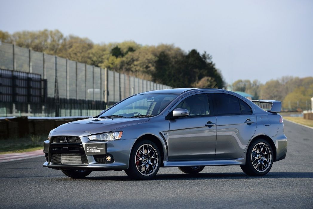 Mitsubishi Lancer Evolution-X Final Edition cars 2015 wallpaper
