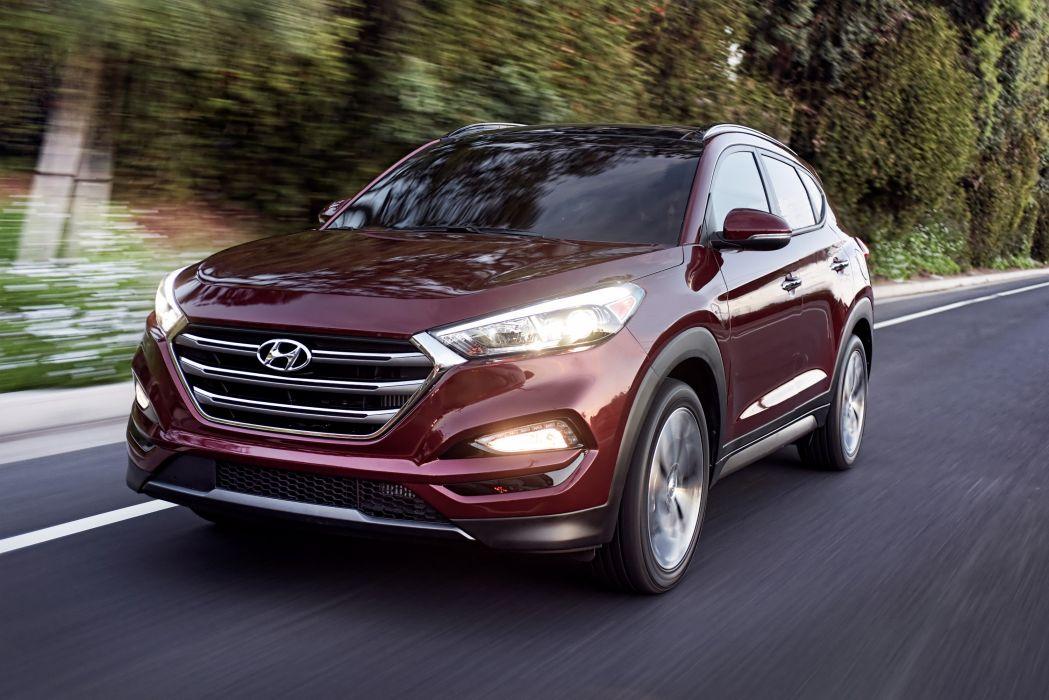 2016 Hyundai Tucson US-spec cars suv 2015 wallpaper