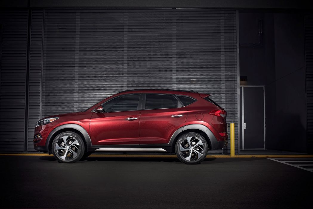 2016 Hyundai Tucson US-spec cars suv 2015 wallpaper