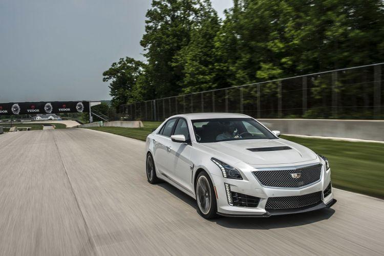 2016 Cadillac CTS-V cars sedan wallpaper