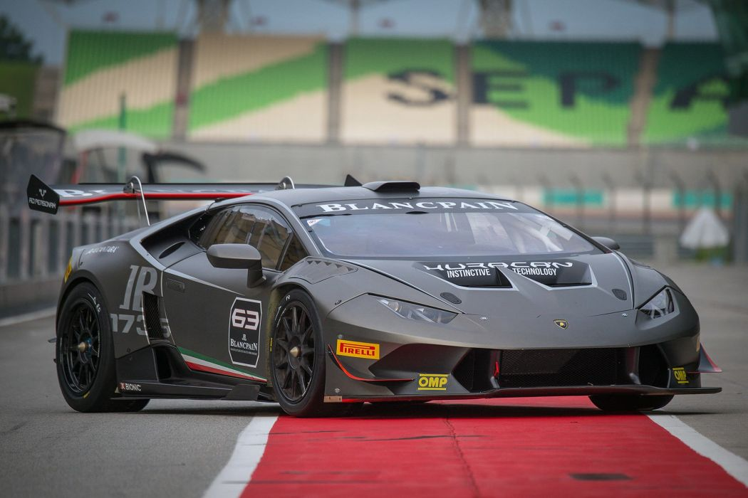 2015 Lamborghini Huracan LP-620-2 Super Trofeo cars racecars wallpaper