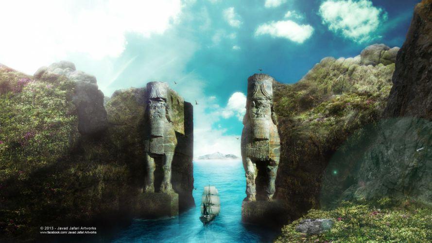 Persepolis entrans wallpaper