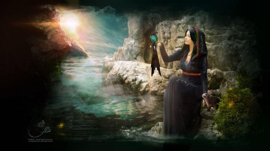 the queen of darkness (by Javad Jafari Artworks) wallpaper