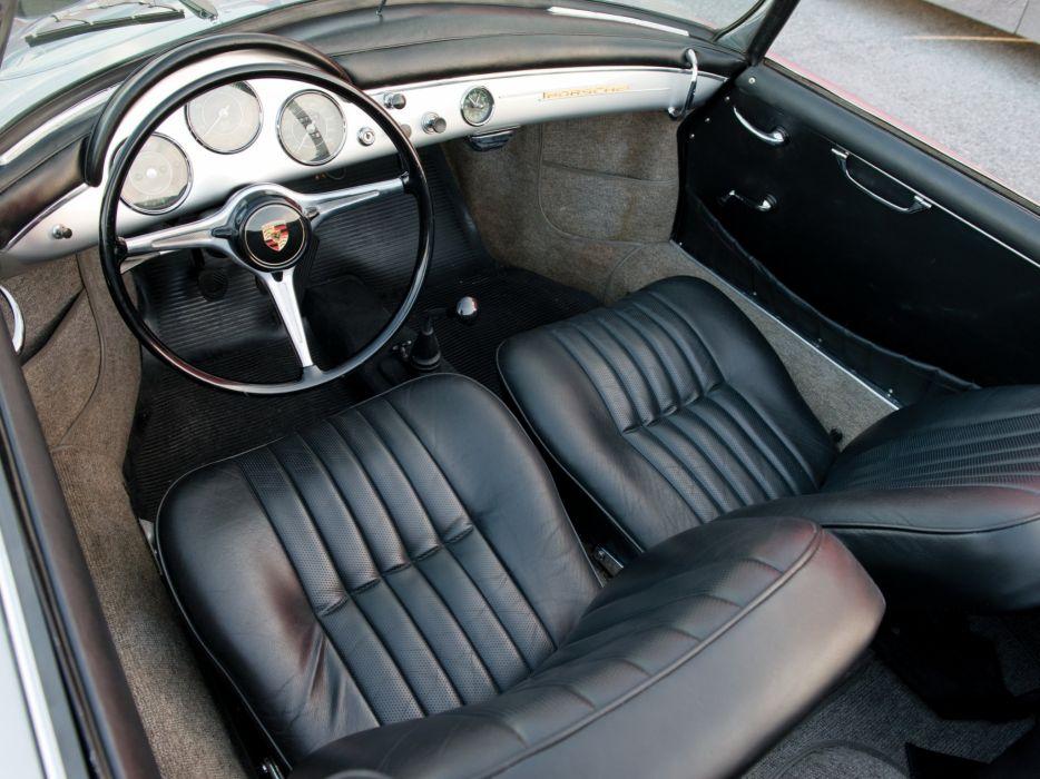 Porsche 356B 1600 Super Roadster Drauz cars classic 1959 wallpaper