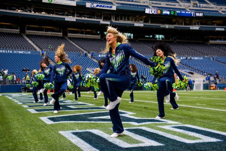SEATTLE SEAHAWKS nfl football cheerleader wallpaper