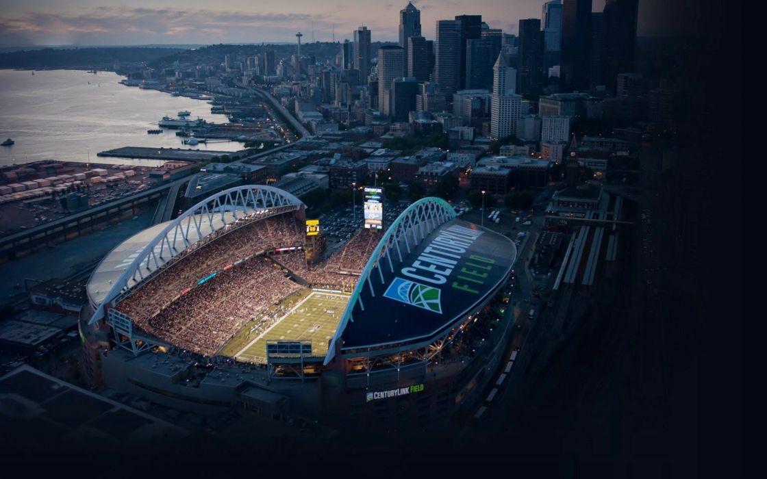 SEATTLE SEAHAWKS nfl football stadium wallpaper