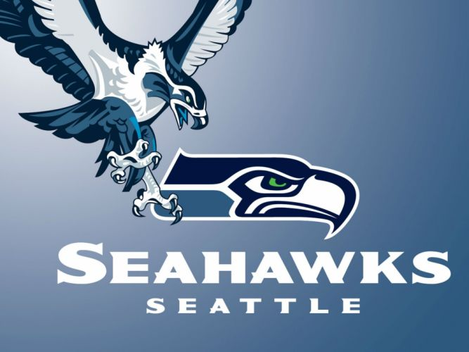 SEATTLE SEAHAWKS nfl football poster wallpaper