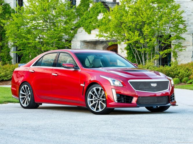 2016 Cadillac cars CTS-V wallpaper