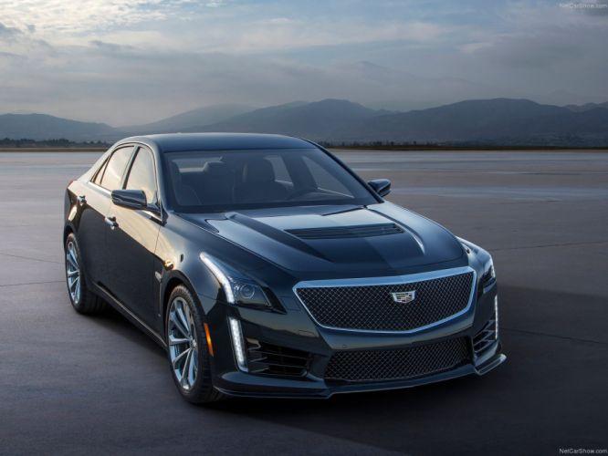 2016 Cadillac cars CTS-V wallpaper