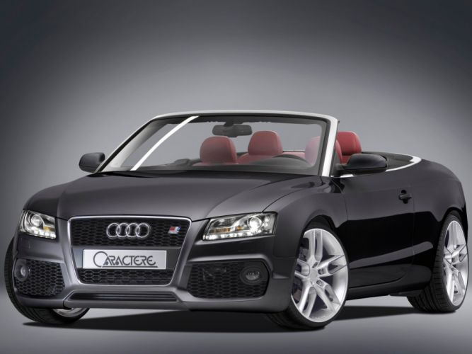 Caractere Audi-S5 Cabriolet modified cars 2009 wallpaper