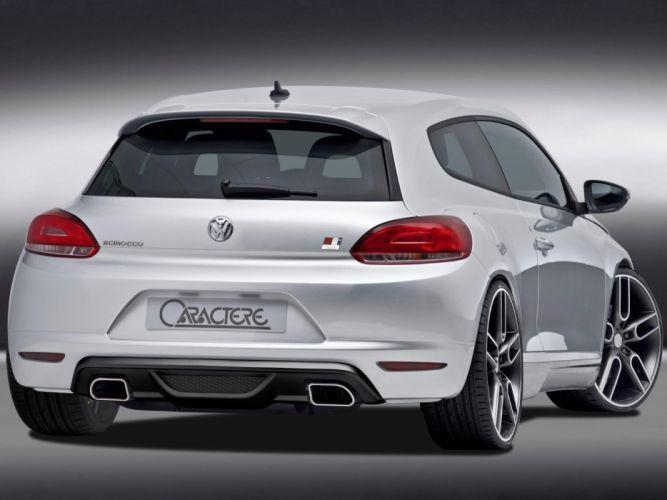 Caractere Volkswagen Scirocco modified cars 2009 wallpaper
