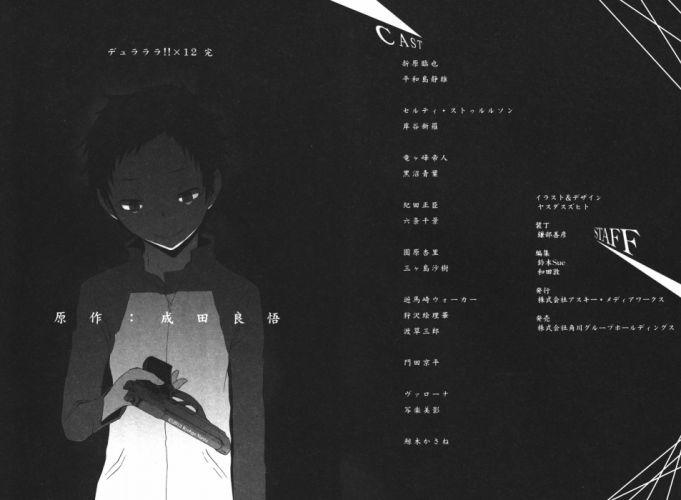 DURARARA!! Ryuugamine Mikado f wallpaper