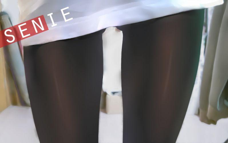 dk senie nopan pantyhose stockings wallpaper