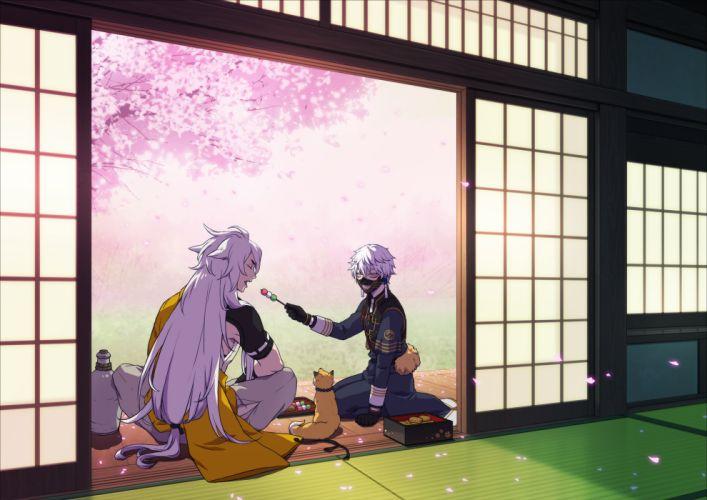 Touken Ranbu Kogitsunemaru Nakigitsune Kitsunemimi Dango wallpaper