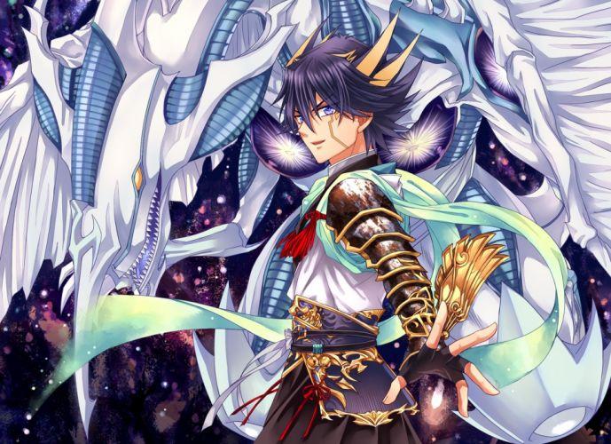 Yu-Gi-Oh 5Ds Stardust Dragon Yusei Fudo Dragon wallpaper