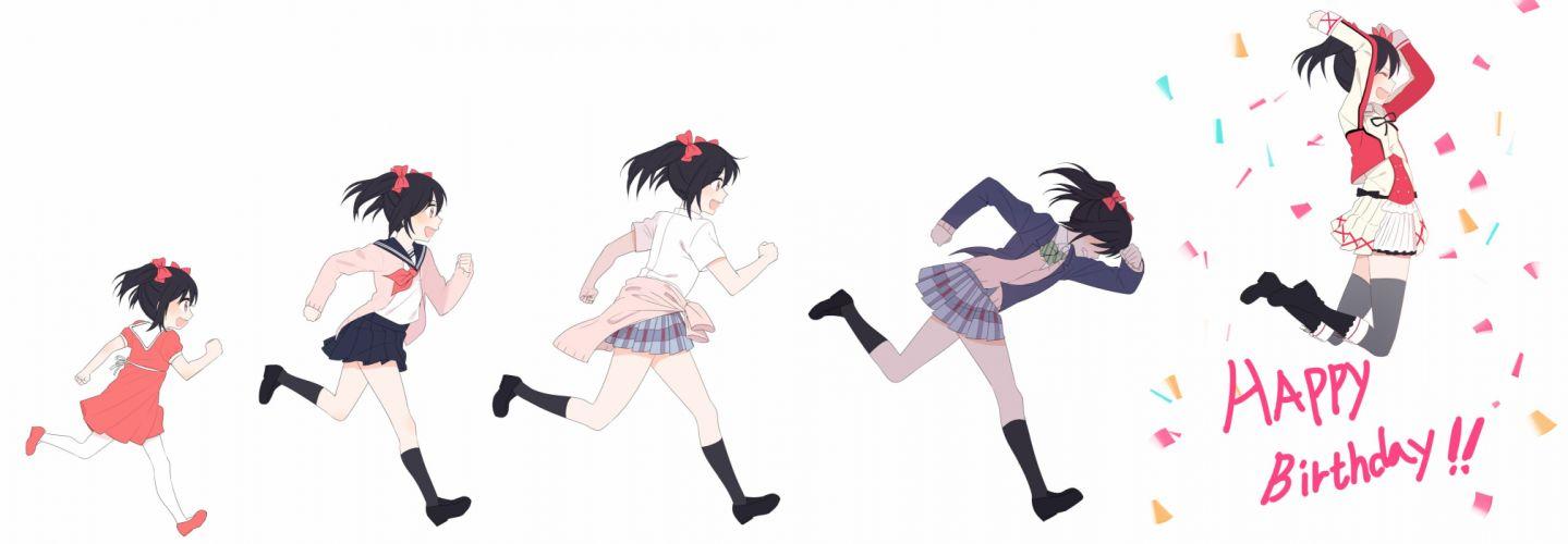 Love Live! Yazawa Niko Birthday Age Progression wallpaper