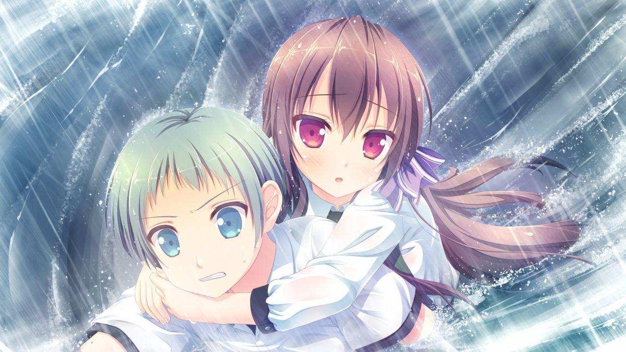 Love Rec Yanase Akira Shirosawa Miyuki Wallpaper 2560x1440