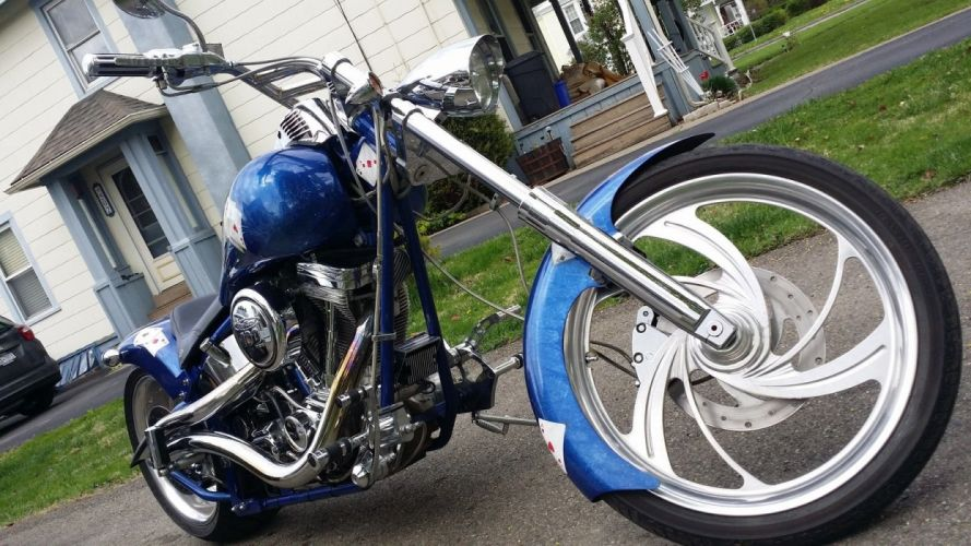 CHOPPER custom bike motorbike motorcycle hot rod rods tuning f wallpaper