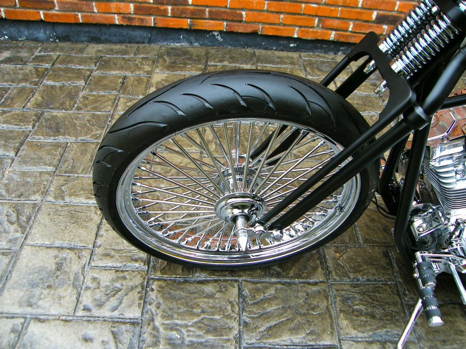 BOBBER custom bike motorbike motorcycle hot rod rods tuning chopper f wallpaper