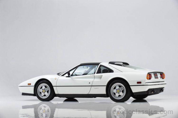 1988 Ferrari 328 GTS cars white wallpaper