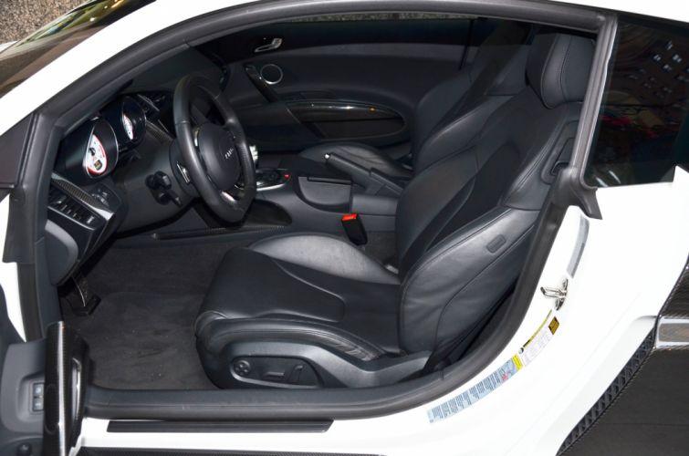 2012 Audi-R8 coupe cars white wallpaper
