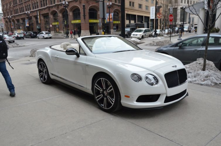 2015 Bentley Continental GTC V8-S cars white wallpaper