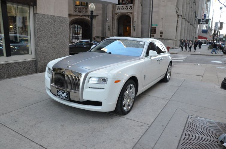 2013 Rolls-Royce Ghost cars white wallpaper