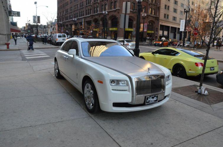 2013 Rolls-Royce Ghost cars white wallpaper