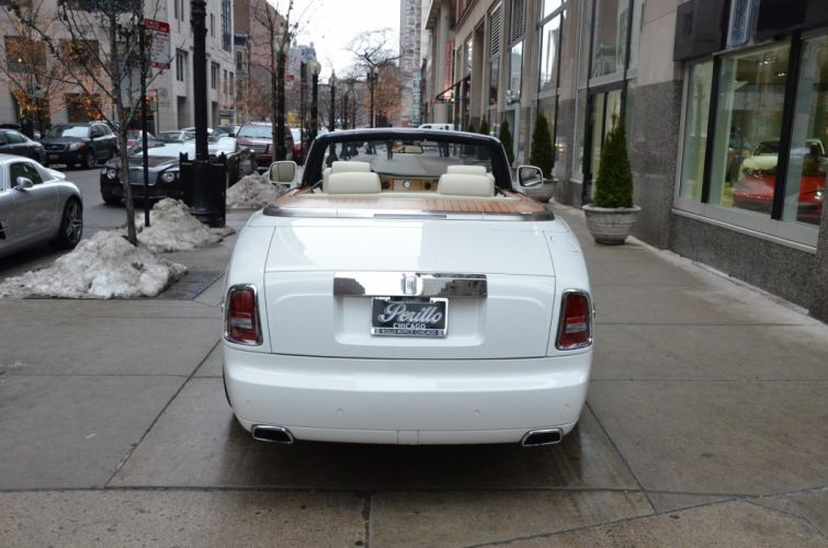 2013 Rolls-Royce Phantom Drophead Coupe cars white wallpaper