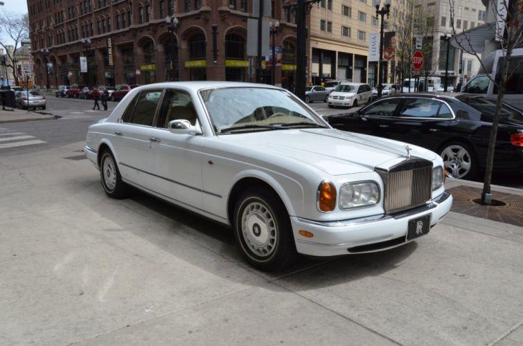 1999 Rolls-Royce SILVER SERAPH cars white wallpaper