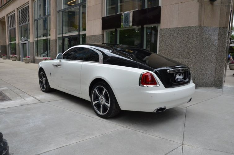 2014 Rolls-Royce Wraith coupe cars white wallpaper
